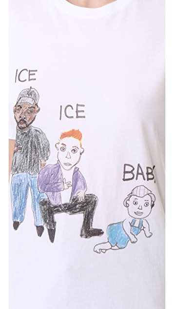 Unfortunate Portrait Ice Ice Baby Tee