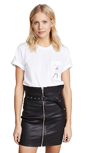 FRENCH KISS POCKET TEE