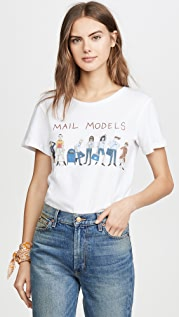Unfortunate Portrait Mail Models Tee