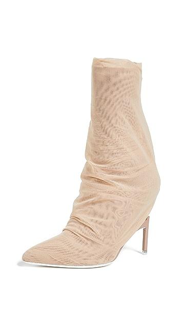 Unravel Project Broken Heel Flyknit Boots