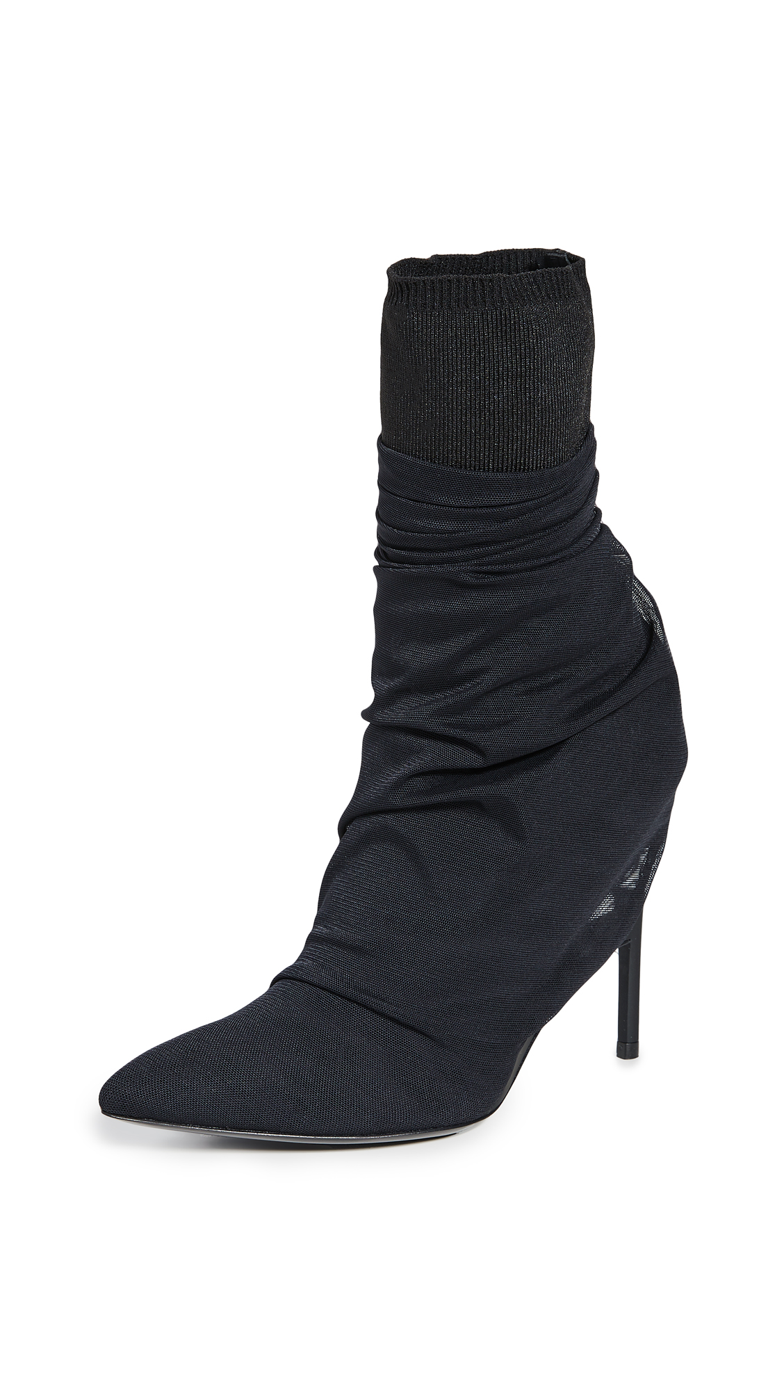 Buy Unravel Project online - photo of Unravel Project Tulle Broken Heel Boots