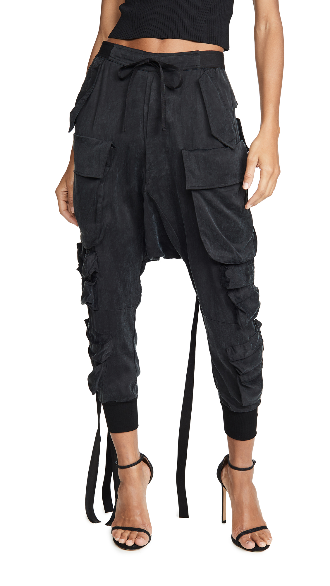Buy Unravel Project online - photo of Unravel Project Parachute Cargo Pants