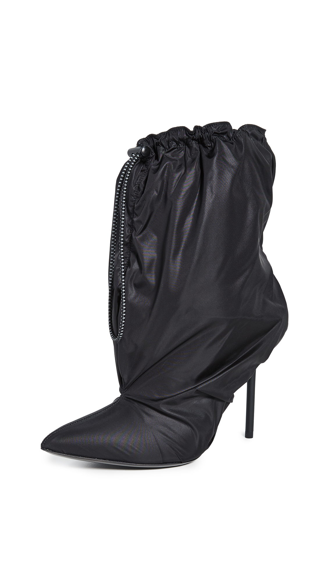 Buy Unravel Project online - photo of Unravel Project Nylon Mule Booties