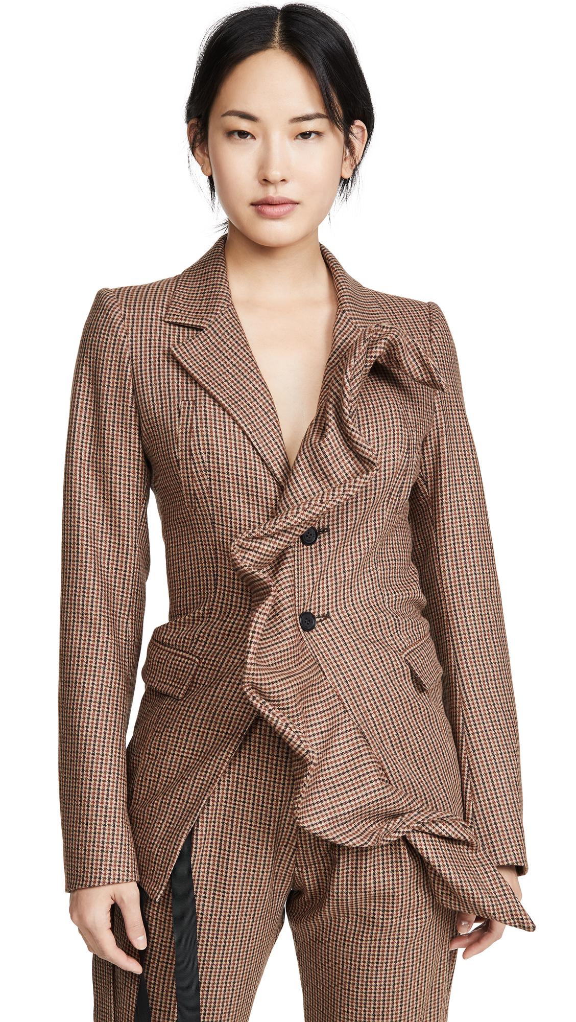 Buy Unravel Project online - photo of Unravel Project Ruffle Blazer