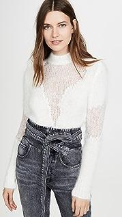 Unravel Project Шерстяной свитер с округлым вырезом