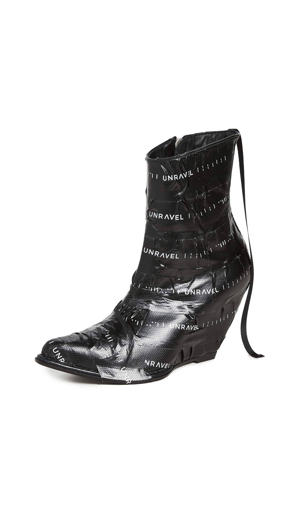 Unravel Project Unrvl Low Boots - 50% Off Sale