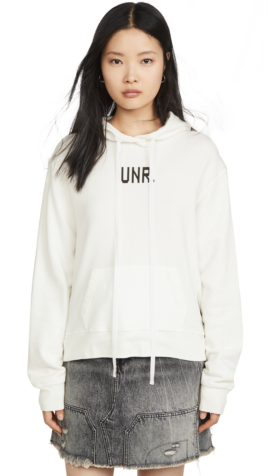 Unravel Project Unr Terry Building Hoodie - 50% Off Sale