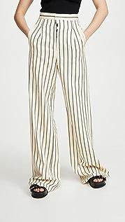Unravel Project Striped Wide Leg Pants