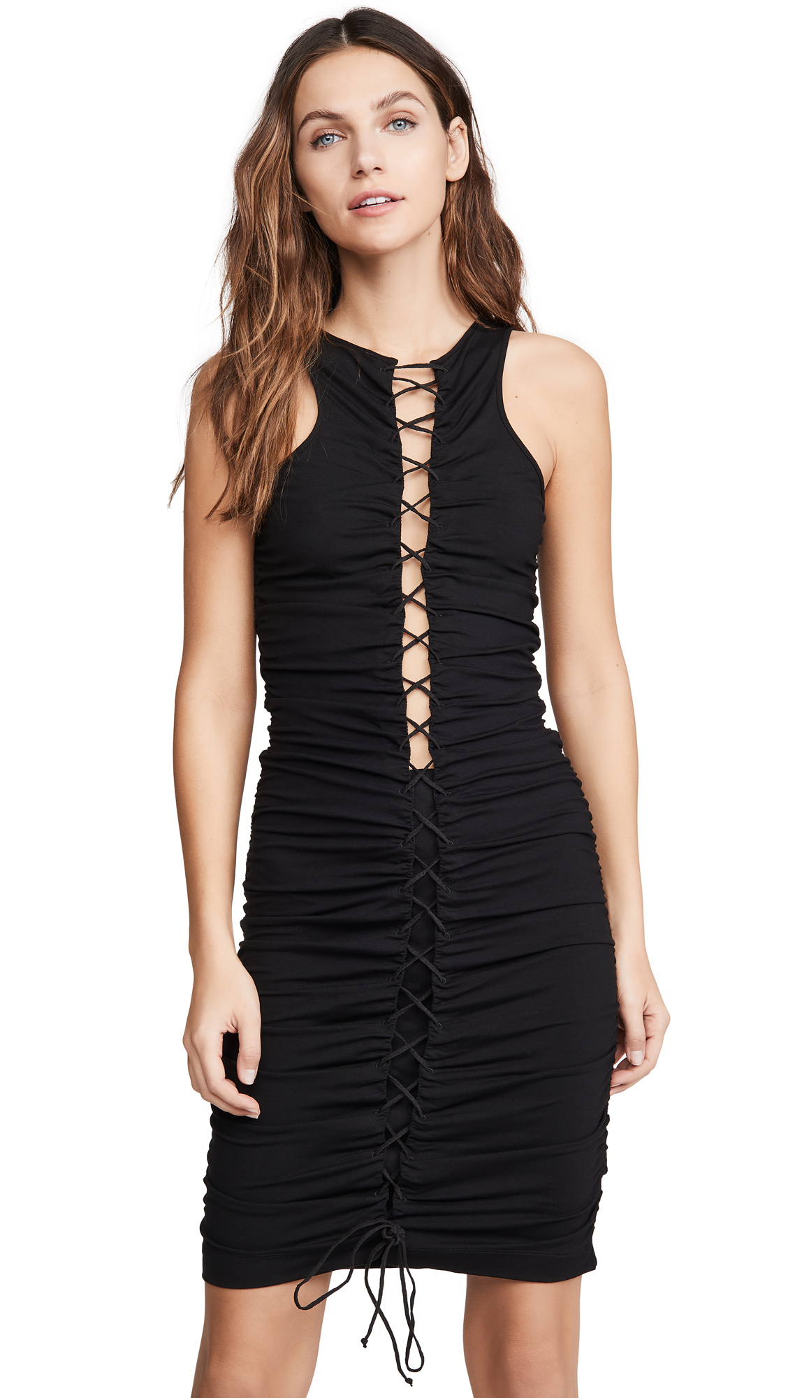 Buy Unravel Project Viscose Lace Up Dress online beautiful Unravel Project Clothing, Dresses