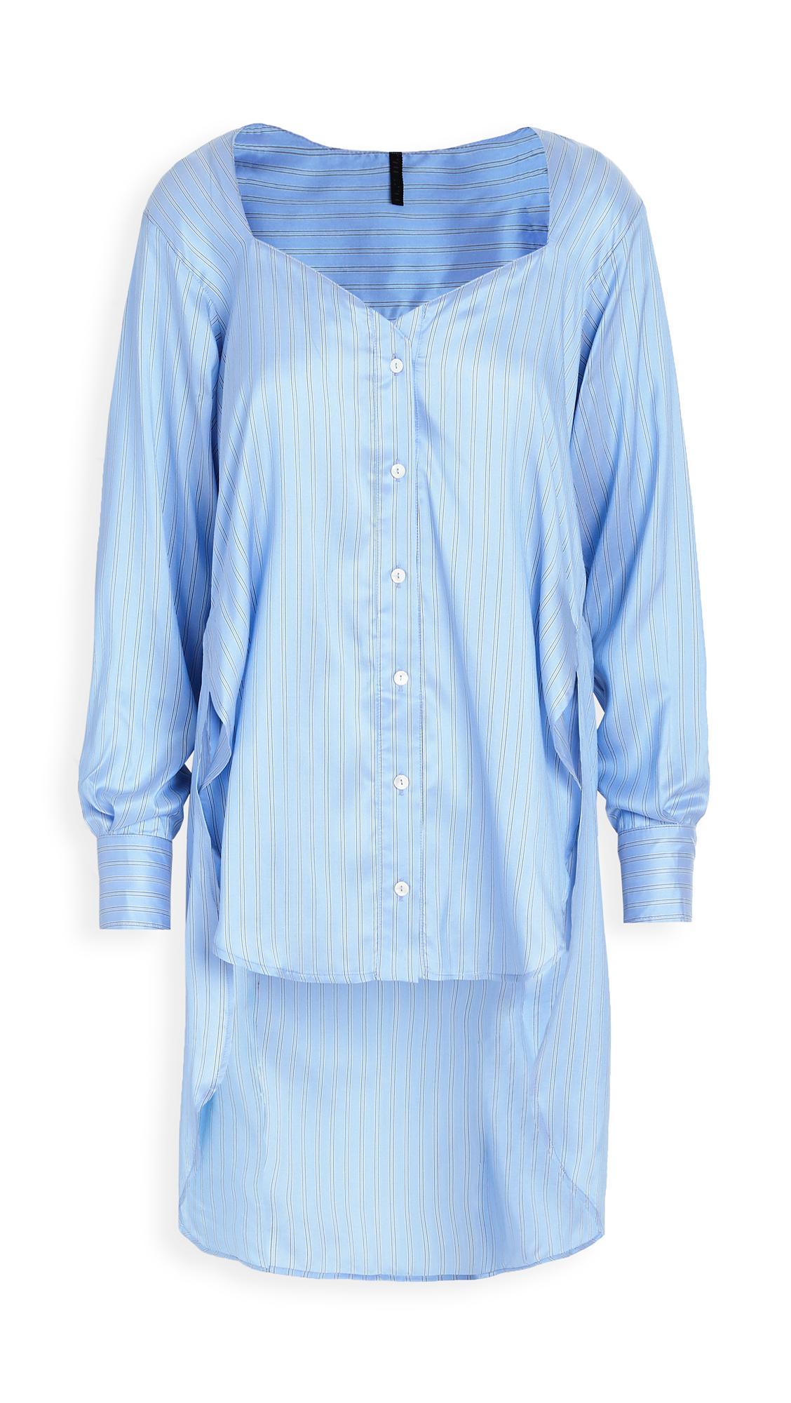 Unravel Project Heart Shaped Neckline Shirt - 50% Off Sale