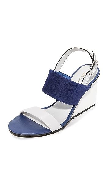 United Nude Solid Slingback Sandals