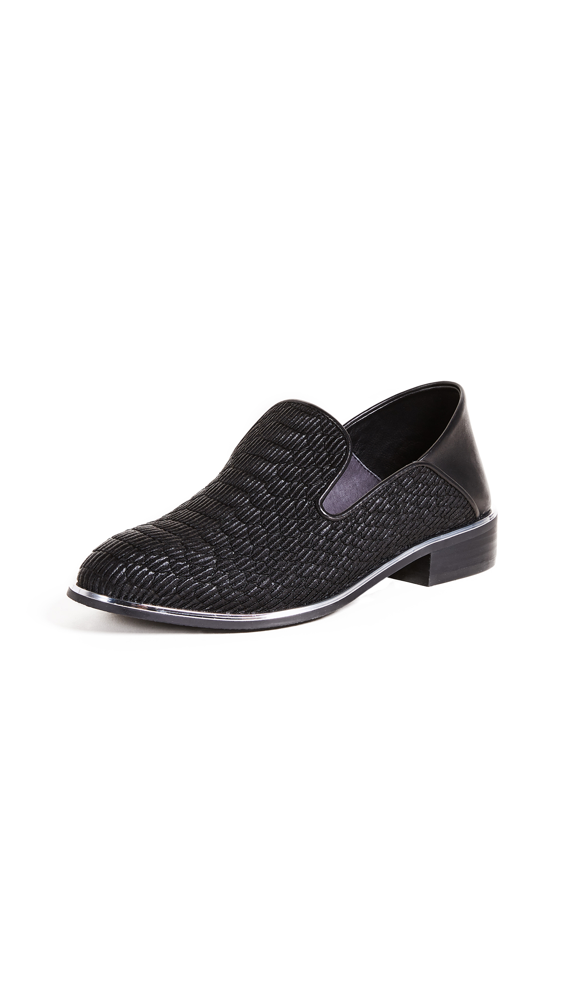 United Nude Jamie Loafers - Black