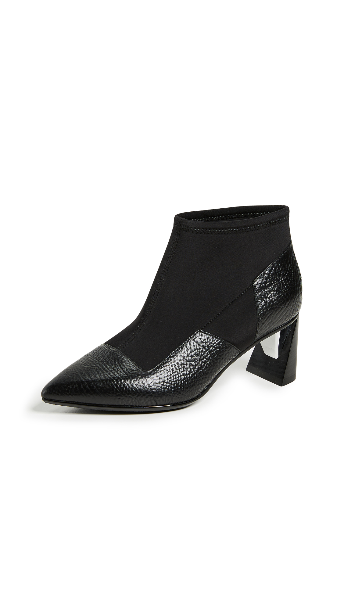 United Nude Zinc Vita Booties - Black