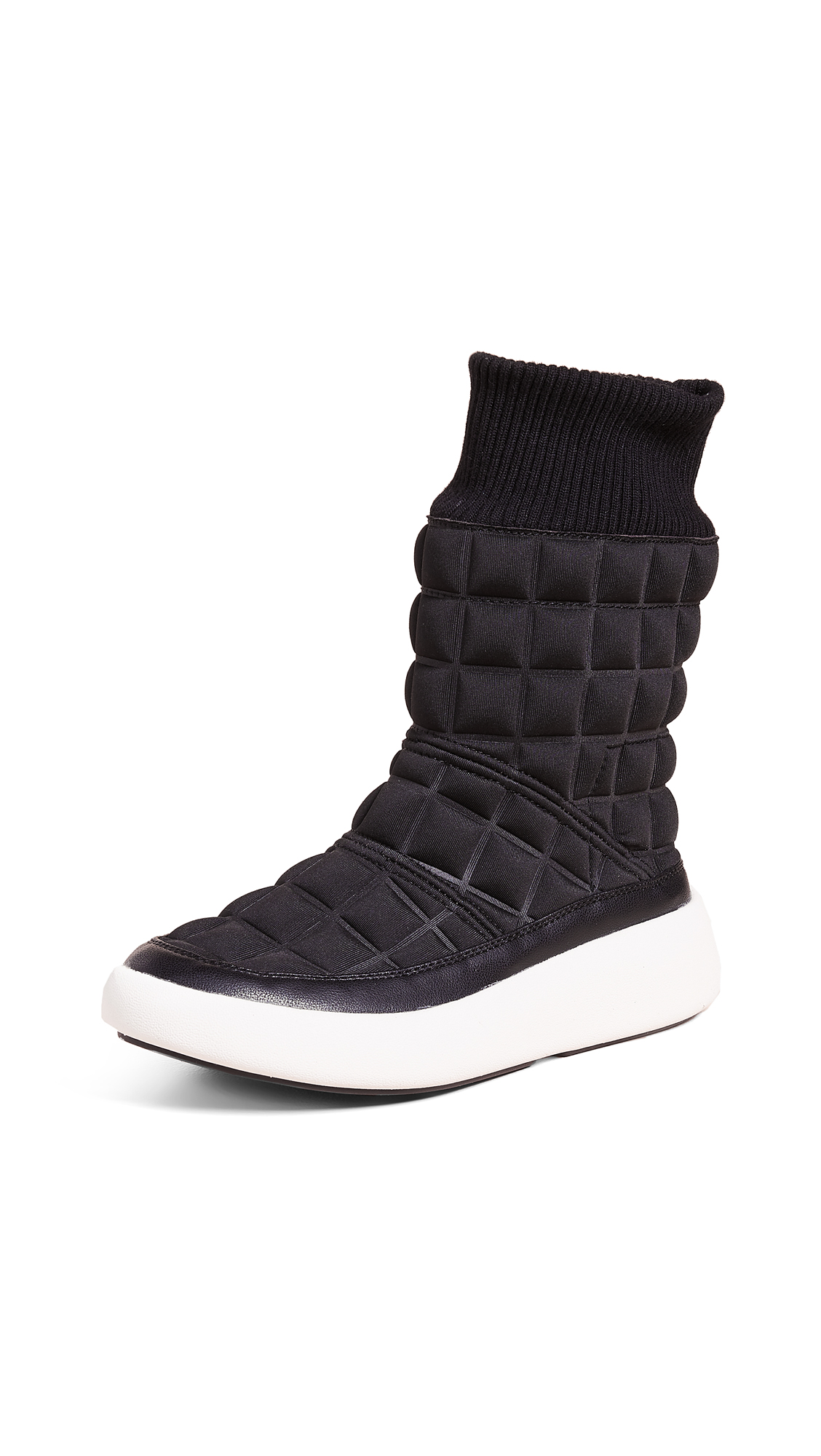 United Nude Bo Bubble Sneaker Boots - Black