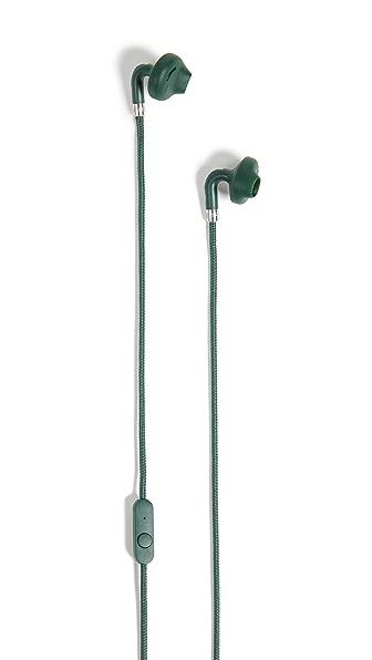 Urbanears Sumpan Earbuds In Emerald Green