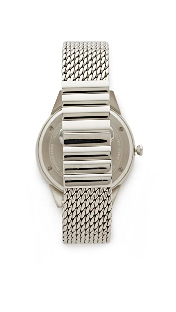 Uniform Wares C40 Polished Steel Watch