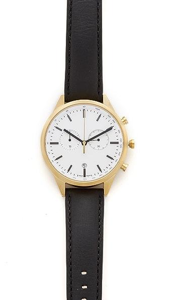 Uniform Wares C41 PVD Chronograph Watch