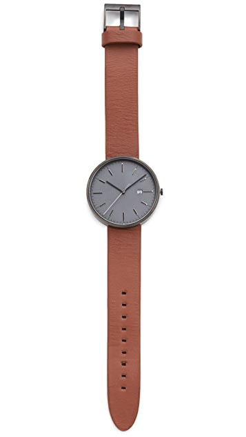 Uniform Wares M40 PVD Date Watch