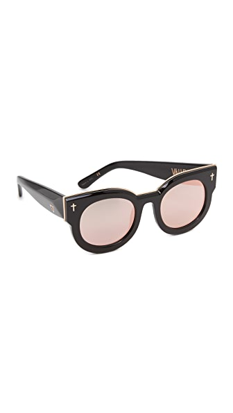 Valley Eyewear A Dead Coffin Club Mirrored Sunglasses