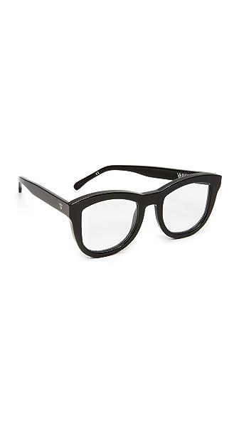 Valley Eyewear Trachea Glasses - Black/Clear