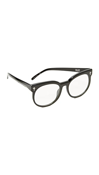 Valley Eyewear Leeches Glasses - Black/Clear