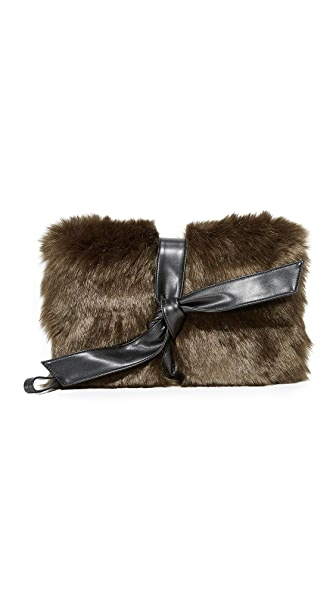 Vasic Collection Lou Clutch - Moss