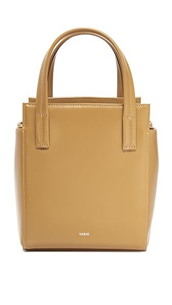 Vasic Collection Mini Steady Satchel - Ocher