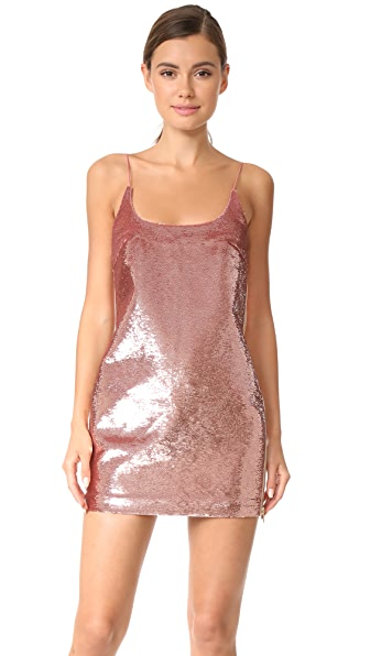 Vatanika Sequin Slip Dress