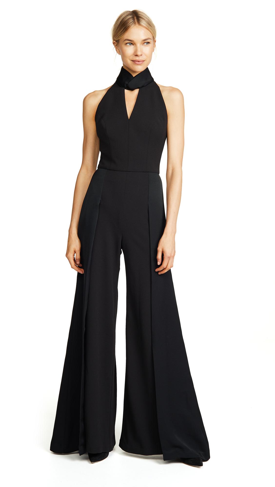 Vatanika Sleeveless Jumpsuit - Black