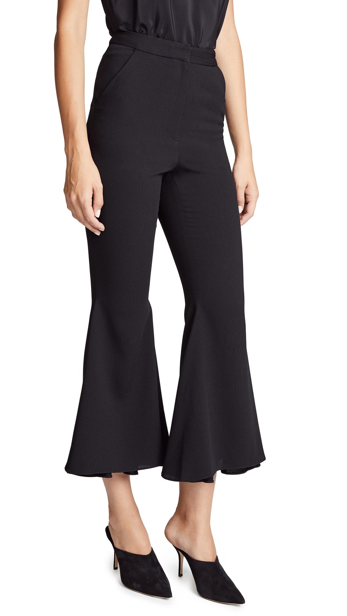 VATANIKA Flare Pants in Black