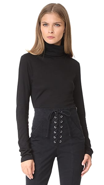 Veronica Beard Jean Audrey Turtleneck Pullover In Black