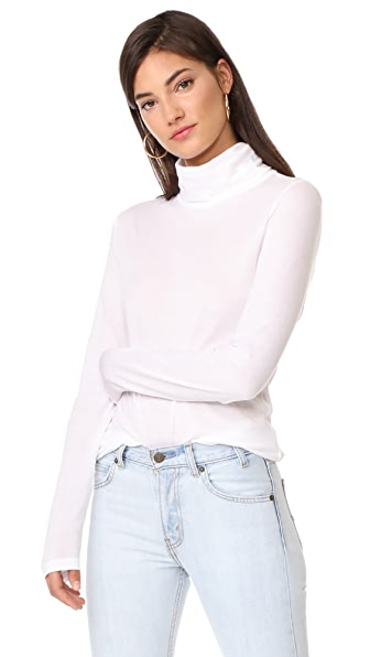 Veronica Beard Jean Audrey Turtleneck Pullover - White
