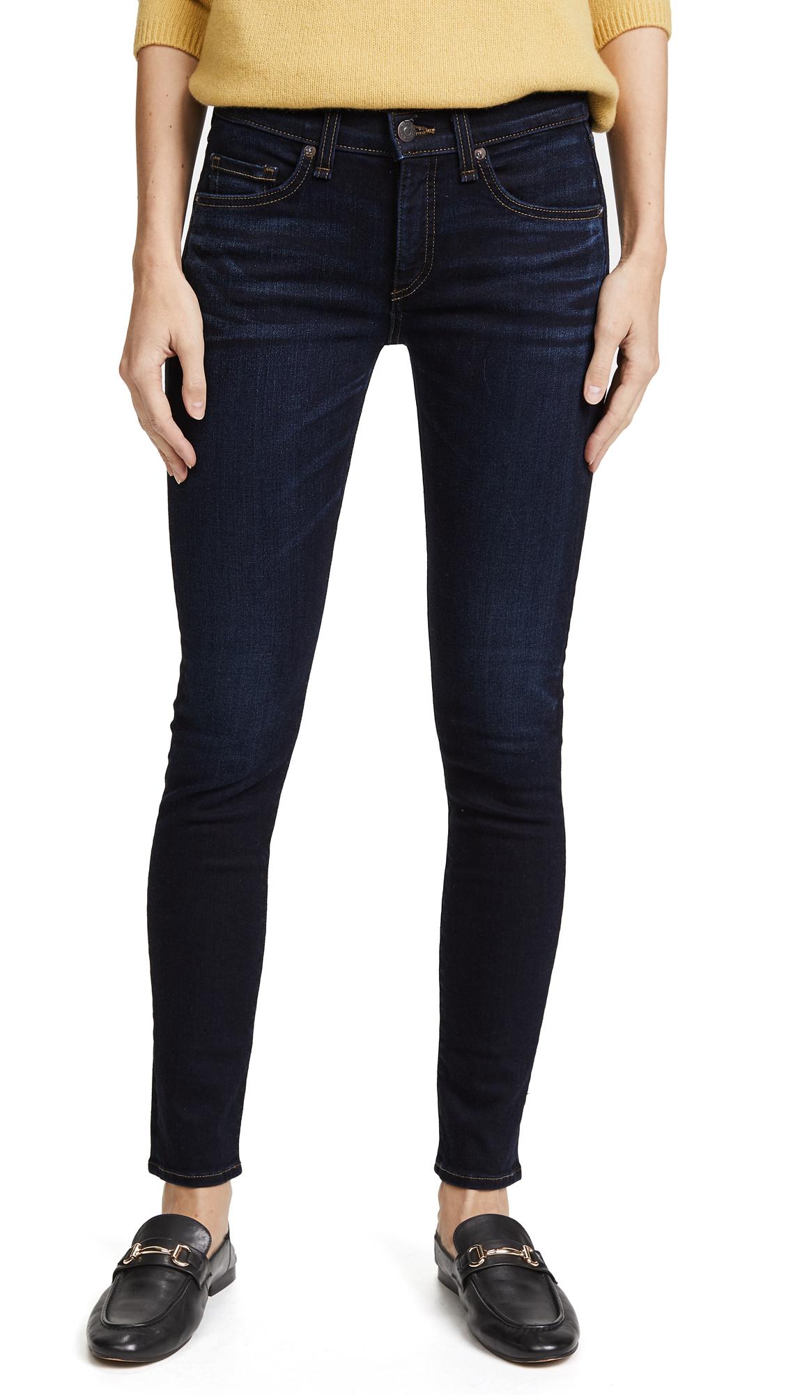 Veronica Beard Jean Brooke Jeans - Deep Blue