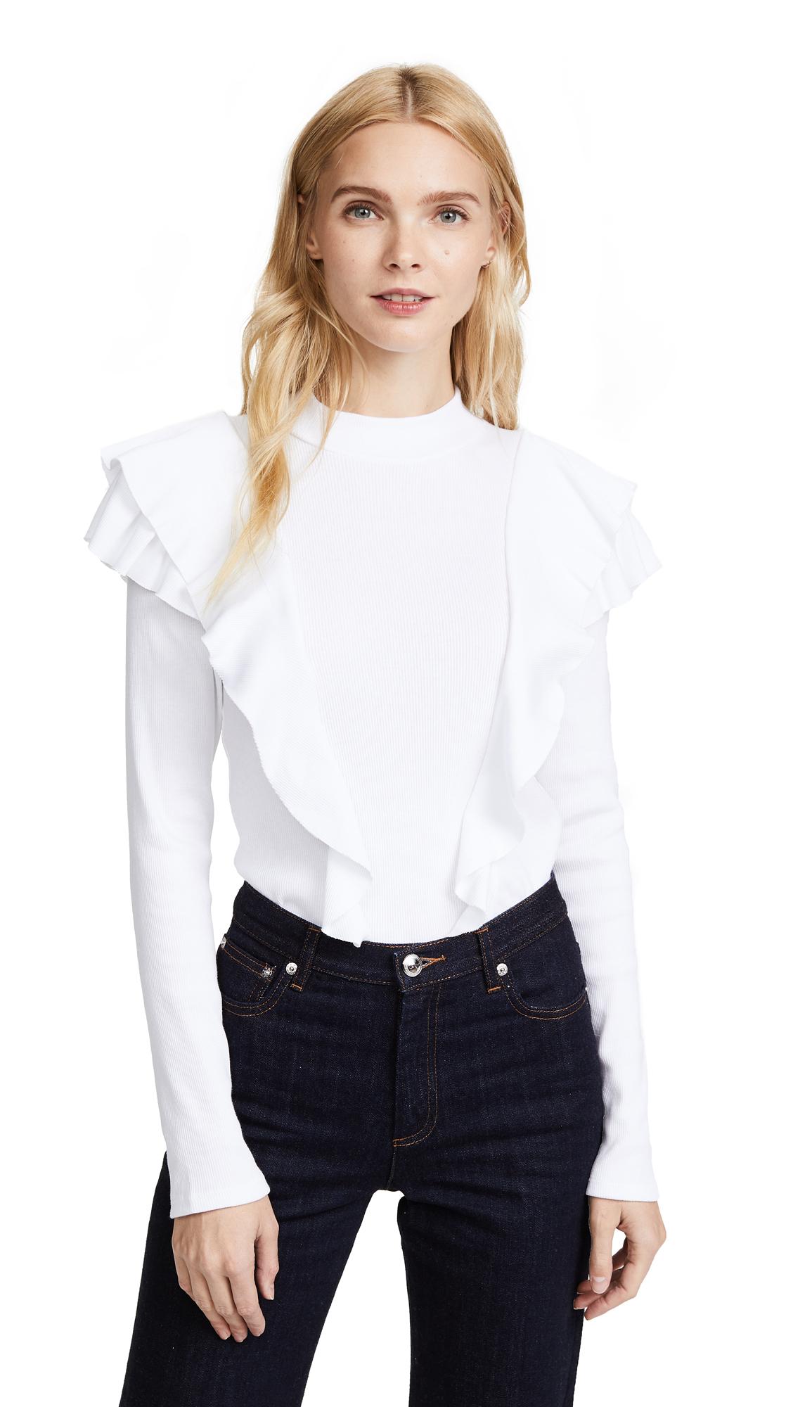 Veronica Beard Jean Dawson Pullover - White