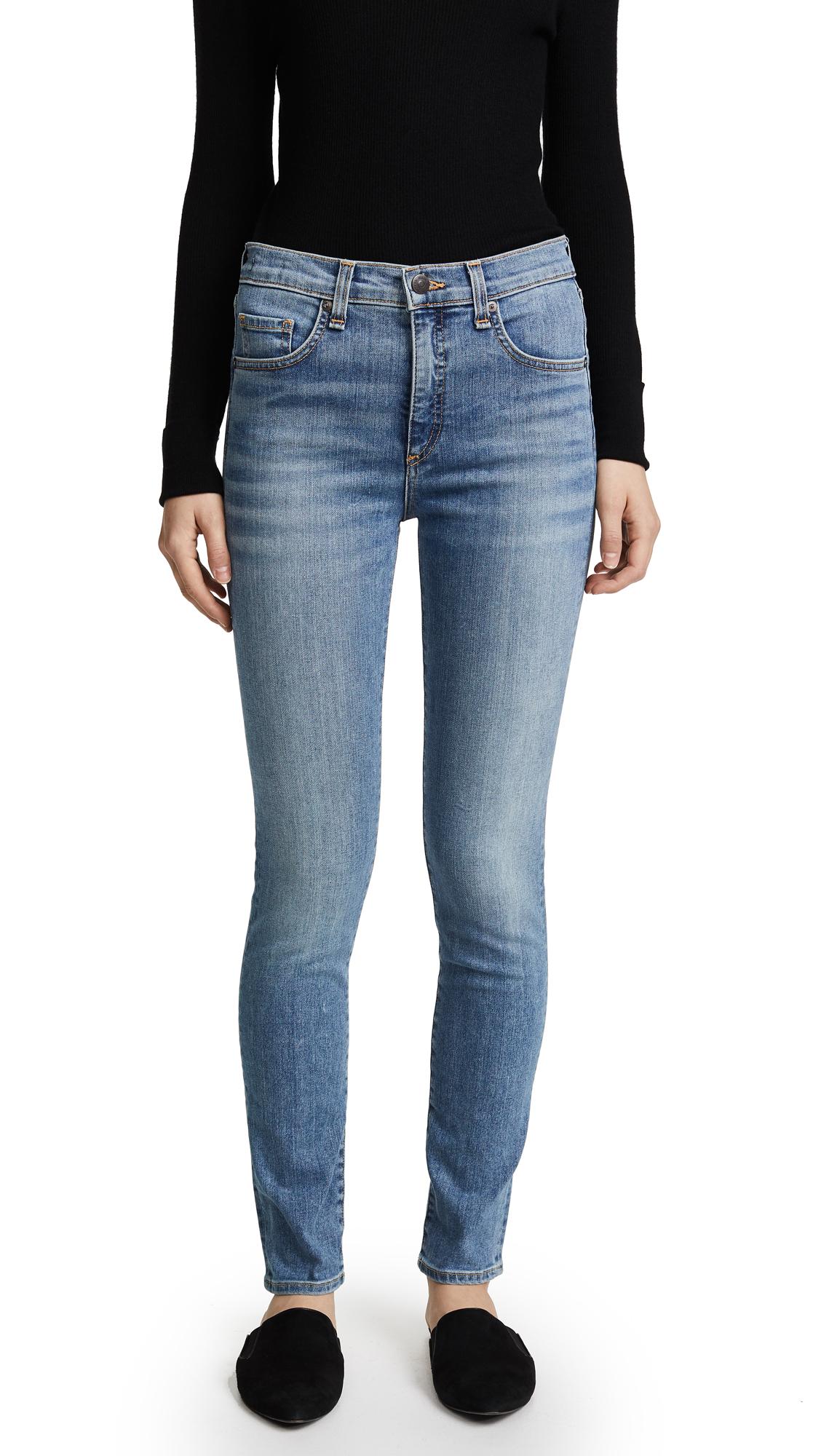 Veronica Beard Jean Kate Skinny Jeans - Retro Blue