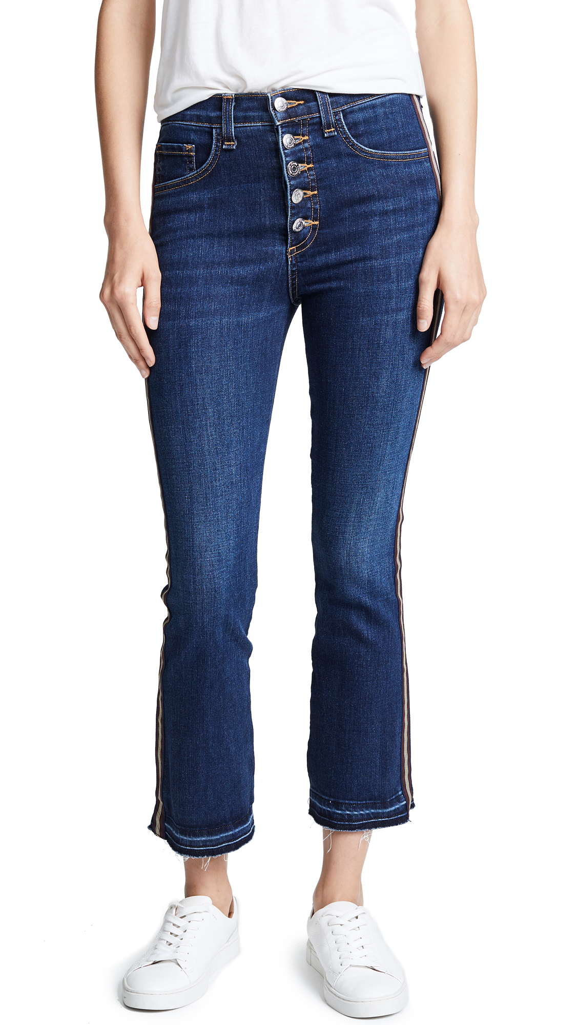 Carolyn Baby Boot Jeans, Bright Blue
