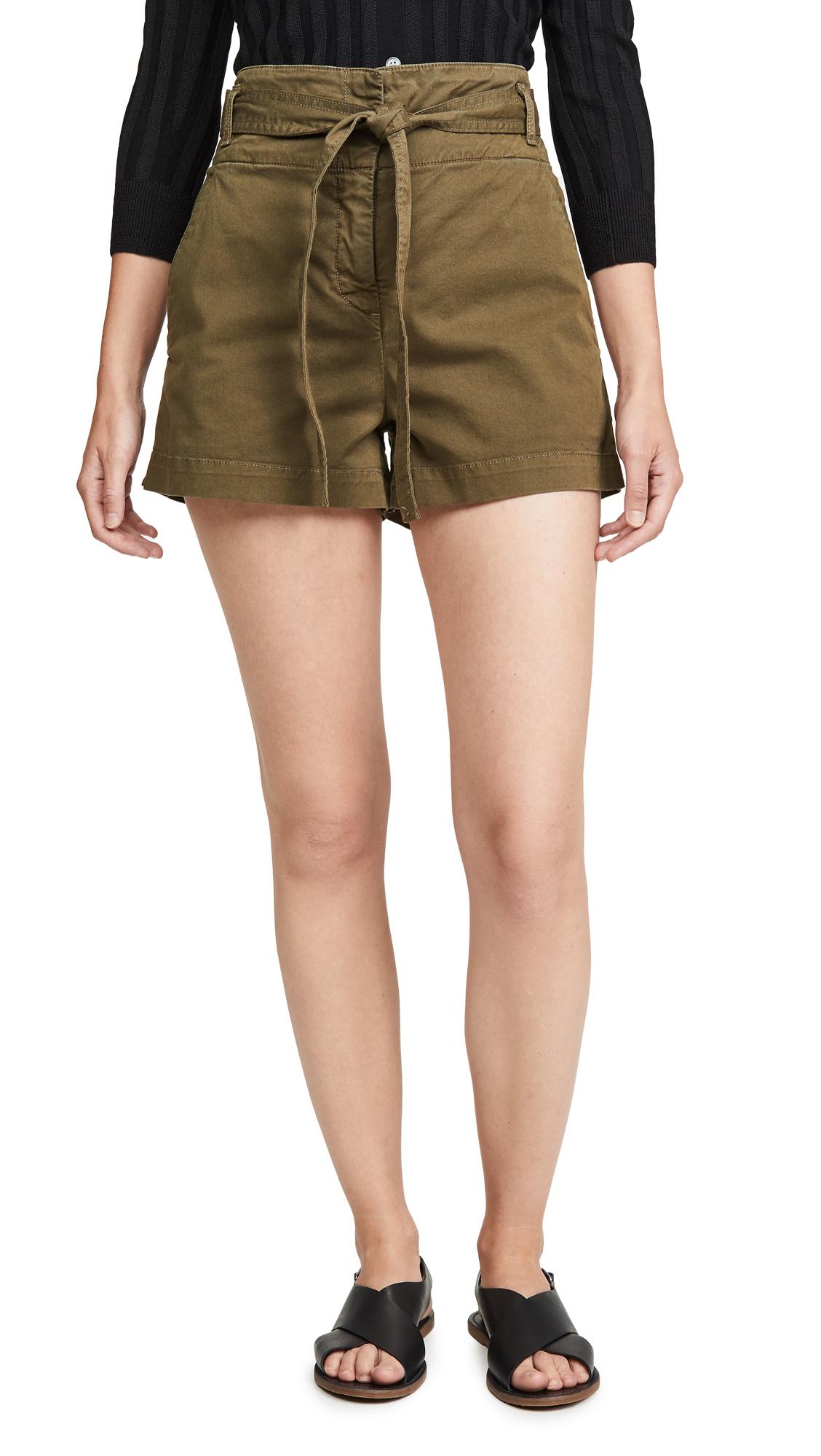 Buy Veronica Beard Jean online - photo of Veronica Beard Jean East Tie Waist Shorts