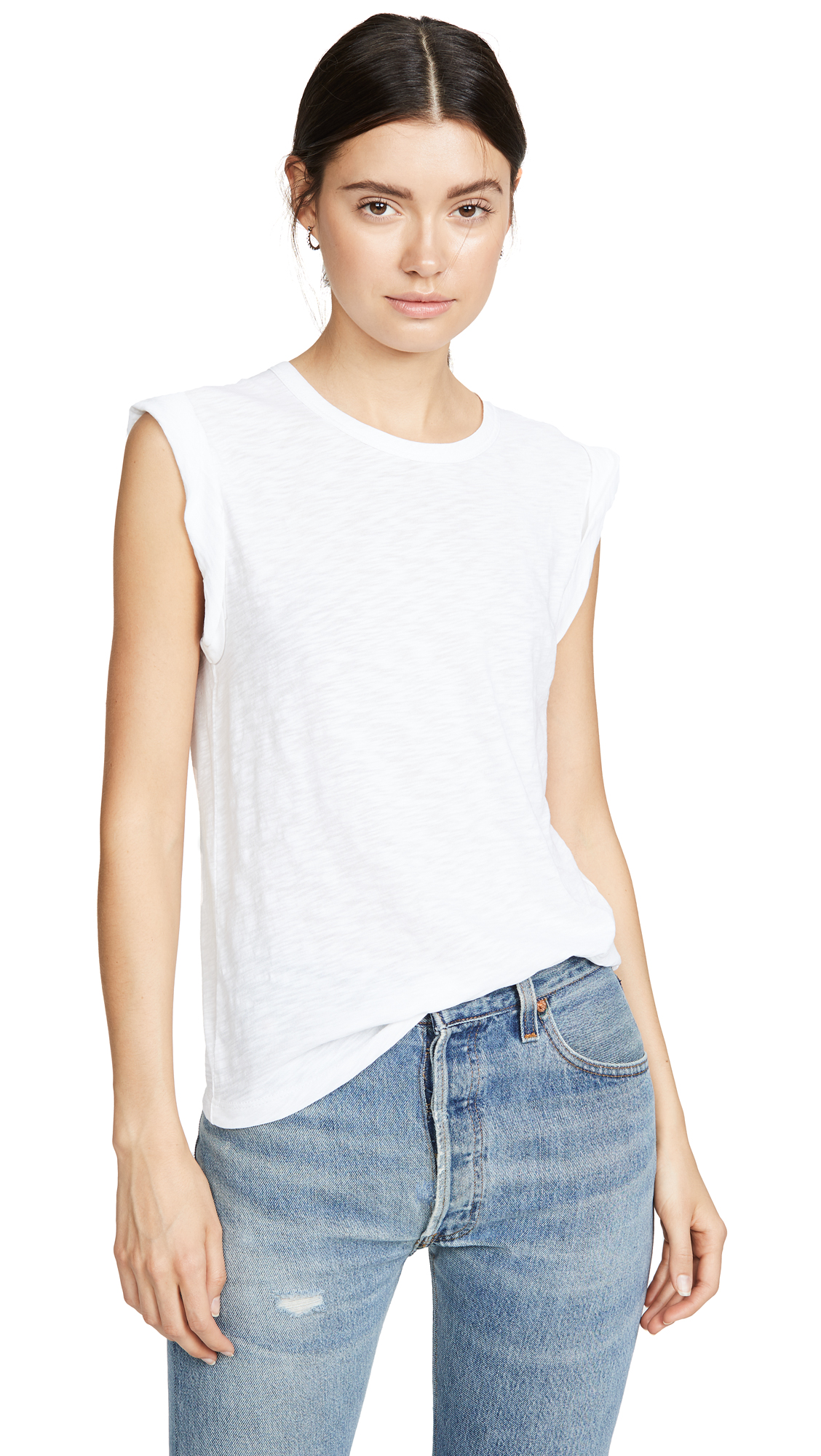 Buy Veronica Beard Jean online - photo of Veronica Beard Jean Dree Muscle Tee