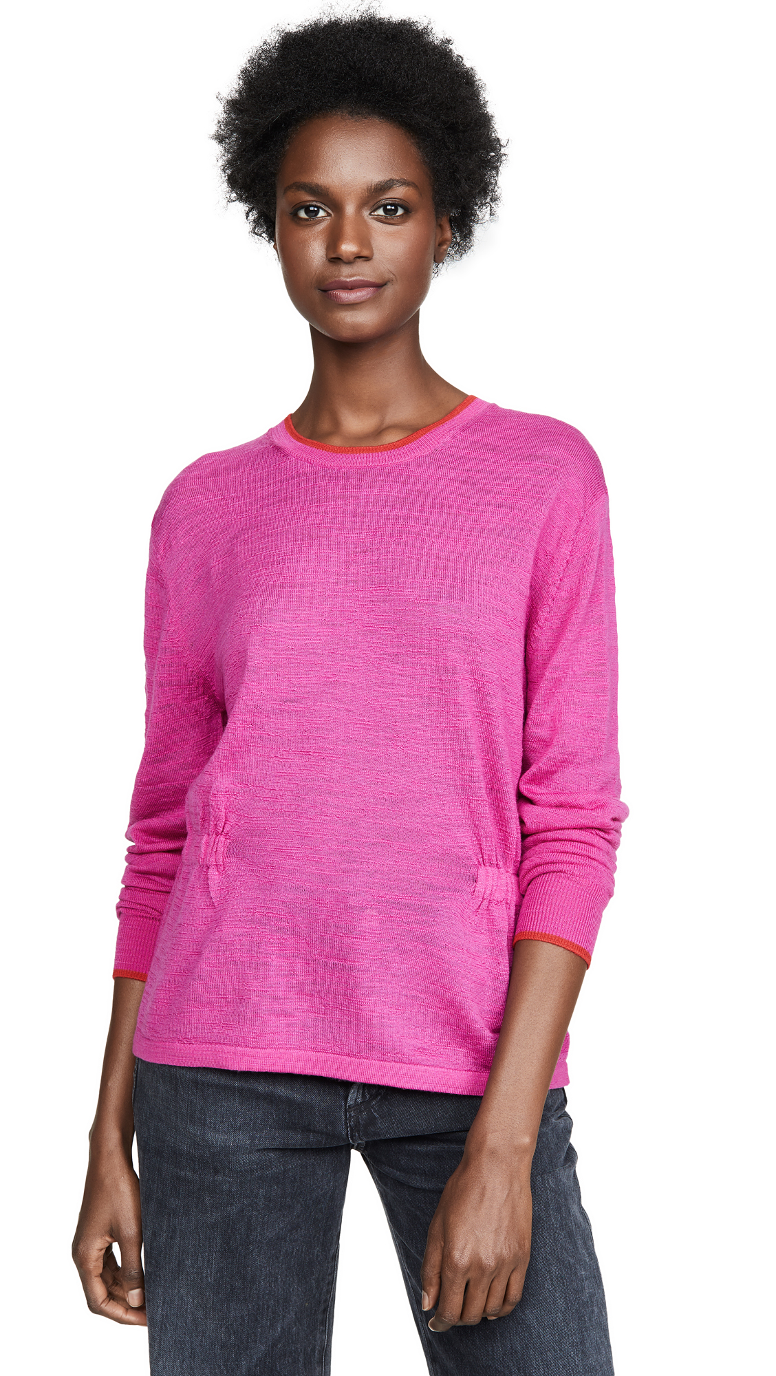 Buy Veronica Beard Jean online - photo of Veronica Beard Jean Charlene Long Sleeved Pullover