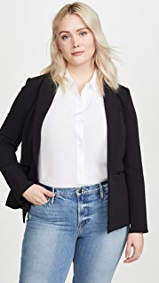 Veronica Beard Single Breasted Blazer