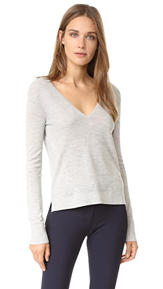 Veronica Beard Vera Cruz V Neck Sweater