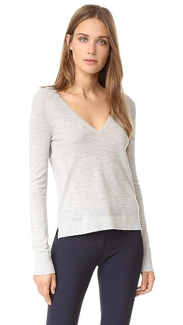 Veronica Beard Vera Cruz V Neck Sweater