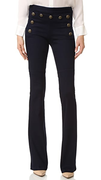 Veronica Beard Tide Wide Leg Sailor Jeans