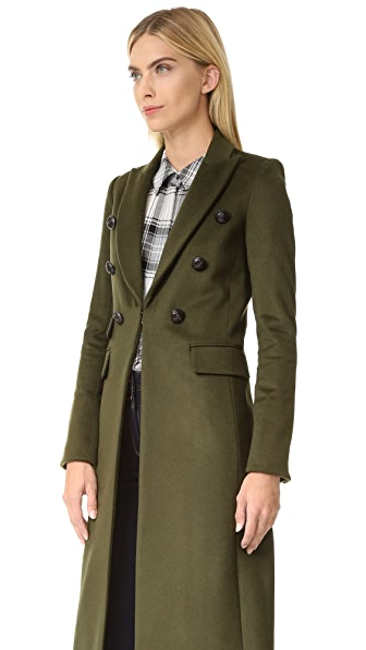 Veronica Beard Voyager Faux Slim Coat | SHOPBOP