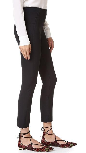 Veronica Beard Zip Back Scuba Pants
