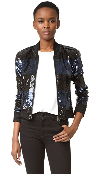Veronica Beard Lexington Bomber Jacket