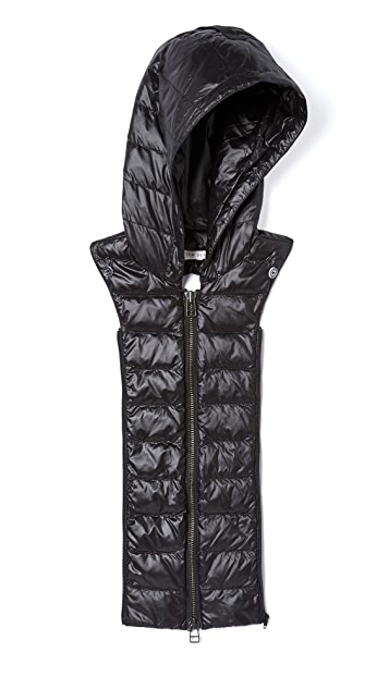 Veronica Beard Puffer Hooded Dickey