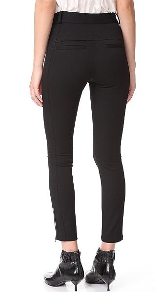 VERONICA BEARD Ash Seamed Skinny Pants