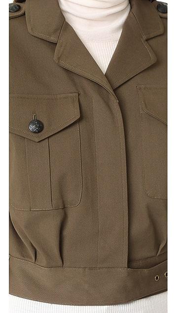 Veronica Beard Fleet SS Military Jacket
