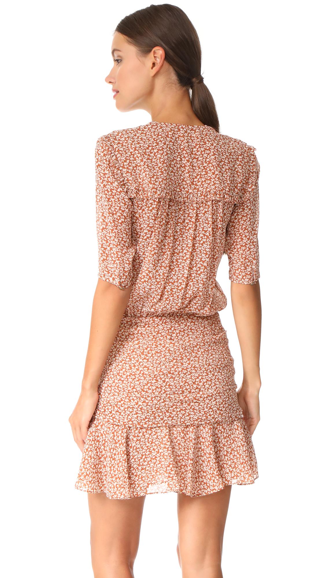 e51349d13fe Veronica Beard Dakota Flounce Dress